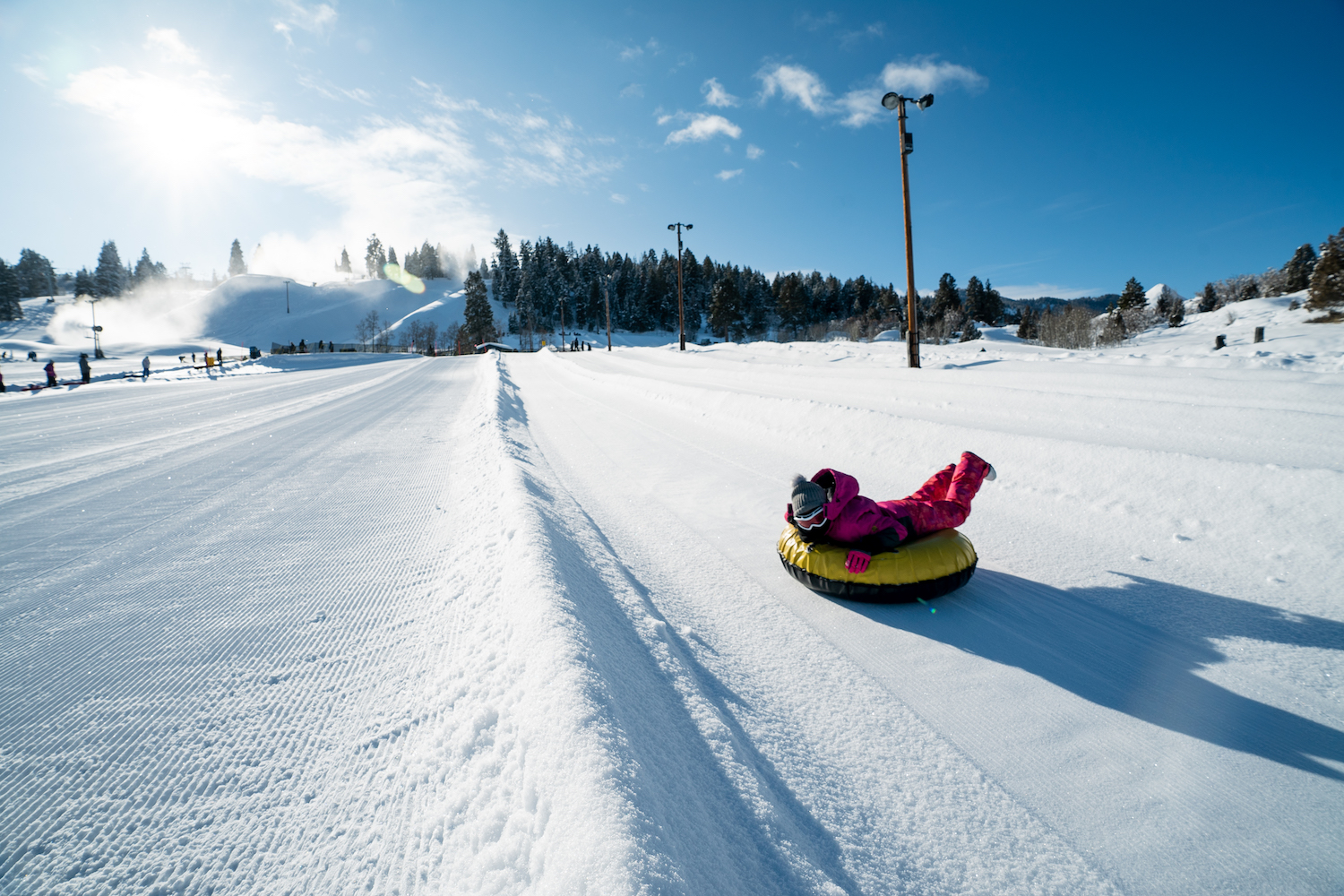 woodward park city snow tubing